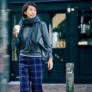 SLOANE・森内敏子さんの今季のおしゃれキーアイテム2<おしゃれプロのほめられ冬アイテム>
