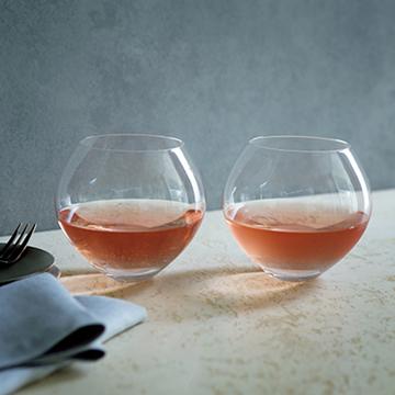 美しいフォルムでアートのように楽しめる!ワイン&シャンパングラス【秋の「自宅バー」計画】
