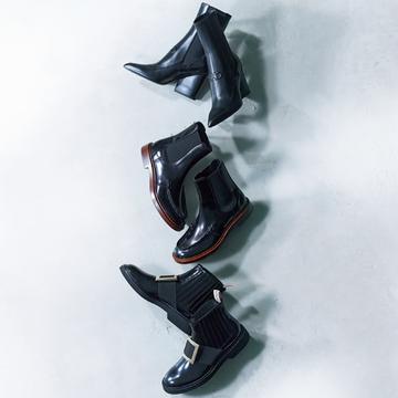 履きやすくておしゃれな「サイドゴア黒ショートブーツ」3選【アラフィーの黒ショートブーツ&黒スニーカー】