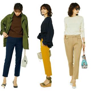 きれい目デニムコーデから細身くるぶし丈パンツまで【ファッション人気記事ランキングトップ10】