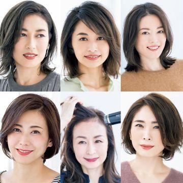 顔だち、ボリュームetc.気になる髪悩みは「前髪」で解決!【50代髪型人気ランキングTOP10】