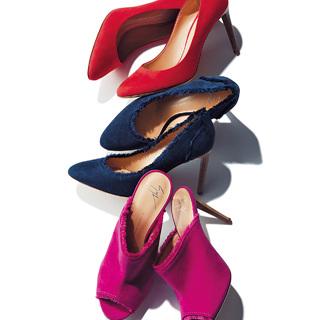 一足あれば、手持ち服を旬にしてくれる。大人こそトレンド靴に投資!