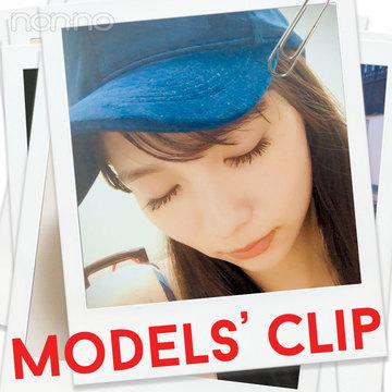 新川優愛のお気に入り♡デニムキャップはコレ!【Models' Clip】