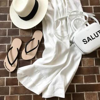 40代に合う夏の白!カッコよすぎる4ケタパンツ【高見えプチプラファッション #119】