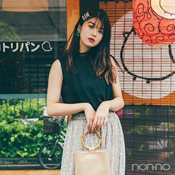馬場ふみかの夏→秋スライド着回し★ シーズンの始めに買う服、これが正解!【vol.1】