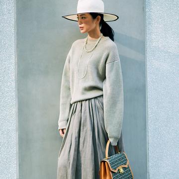 おすすめブランドの最旬スカート2/アドーア、チノ、エブール【春、注目したい「甘くないスカート」】