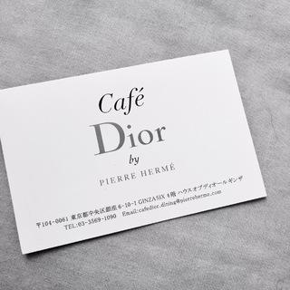 うっとりなDior Cafe♡