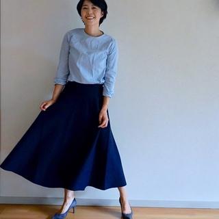 BLUEBIRD BOULEVARDのスカートで秋スタイル始め