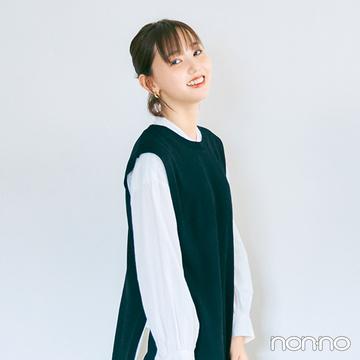 【GU新作即買いリスト】2000円以下! フェイクレザースカートを着回し!