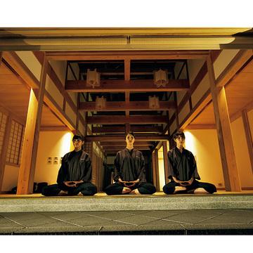 1.禅の世界を知り、体験して心癒される新しい宿