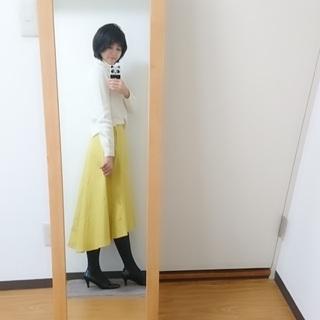気分を上げる♪イエロースカート