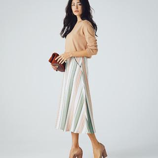 ■きれい色の柄スカート、冒険アイテムにこそ頼れる一足