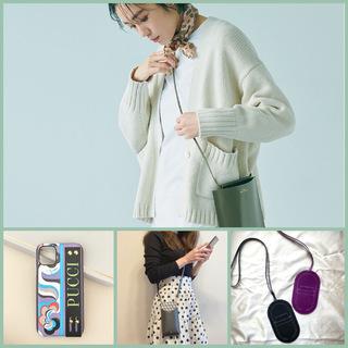 スマホケースだけでお出かけ!ミニマムなのに便利なミニバッグ&最旬スマホケースまとめ|40代ファッション