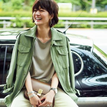 富岡佳子、夏の私服全部見せます! 五選
