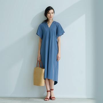 池田奈加子さんと待望のコラボ!  1枚で着られて涼しい「雰囲気出しワンピース」 五選