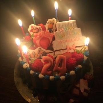 お誕生日迎えました♡ミニオンケーキ