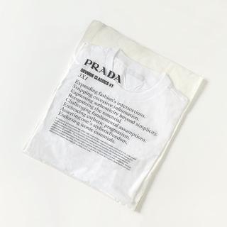 おすすめ白T Part.2 プラダのパックTシャツ