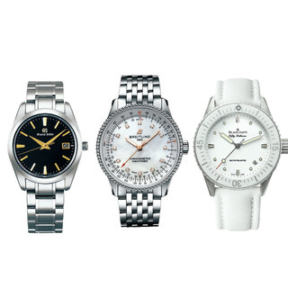 アラフォー女性の一生モノ時計を探せ!カジュアル使いしたいメンズライクな高級時計
