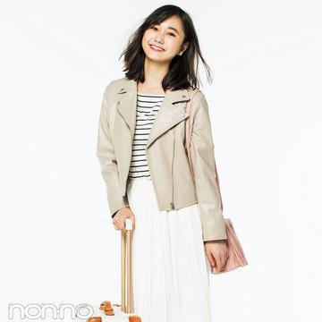 鉄板トレンド! 白プリーツスカートの着回し★ノンノモデル鈴木友菜の3スタイル