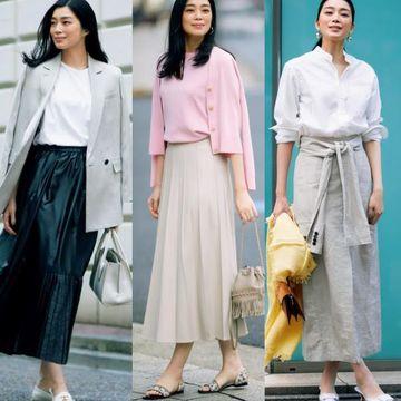 50代のスカート選びは人気上昇中の「甘くないスカート」が正解!
