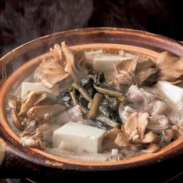 1.野沢菜鍋