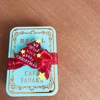 「CAFE TANAKA」レガルドチヒロのクリスマス限定缶♡