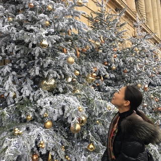 クリスマスムードの海外での年末年始
