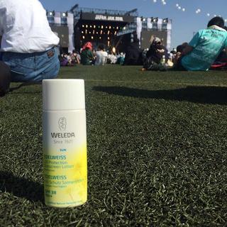 夏フェスにおすすめの日焼け止め「ヴェレダのエーデルワイス UVプロテクト」