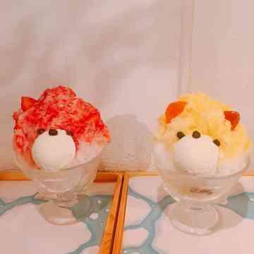 おすすめの可愛いかき氷その2♡恵比寿櫻花のクマかき氷