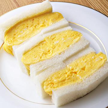 フワフワな食感! グリルグリーンの「玉子サンド」【京都、あの店のあの一品】