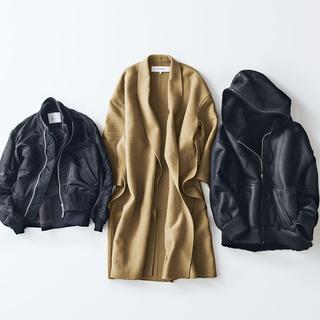 スタイリスト辻 直子さんの着こなしの幅を広げる3枚のコート