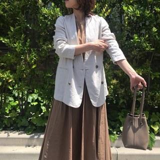 日常の中で着られるジャケット♡私の間違いない1着は【Plage】です。