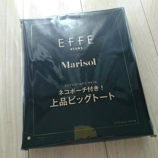 ニャンとも可愛い♡E・F・F・E BEAMS × Marisolビッグトート_1_1