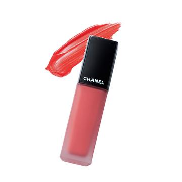 2.唇をオレンジ色に染めるマットなスイートカラー