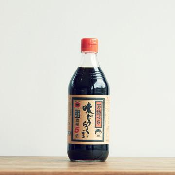 4.東北醤油「万能つゆ 味どうらくの里」