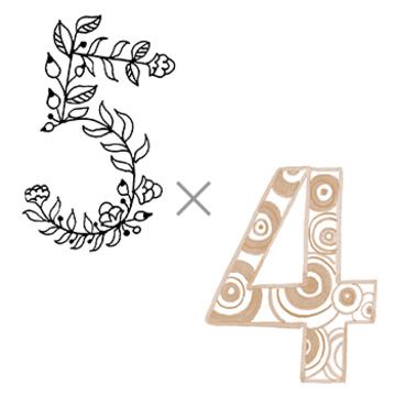5×4 (現実が迫る年)