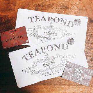 プレゼントにぴったり!おしゃれなデザインが素敵な紅茶専門店「TEAPOND」