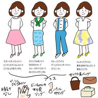 男ウケのいい「知的でかわいげ」な春夏・秋冬ファッションとは?【アラフォーケビ子の婚活ファッション #7】