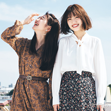 GU秋新作、毎日コーデに大活躍の柄スカート&柄ワンピが大本命!
