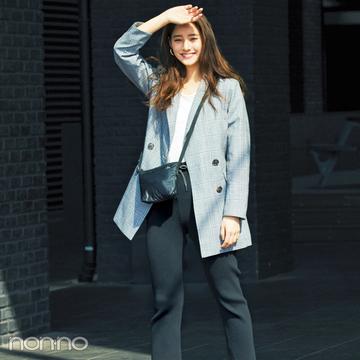 リブパンツが人気急上昇中って知ってた? 優子&ふみかの今っぽコーデをチェック!