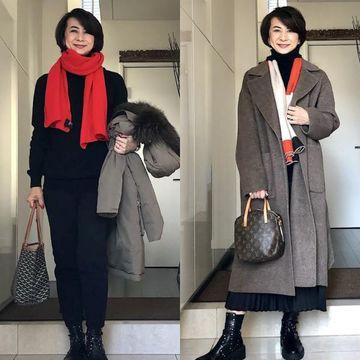 【2020冬のプチプラファッション】アラフィー華組ブロガーの『ユニクロ・GU』高見えコーデ特集