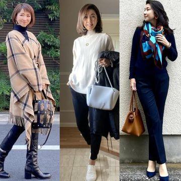 【2021冬のプチプラファッション】アラフィー華組ブロガーの『ユニクロ・GU』高見えコーデ特集