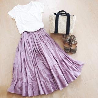 スカート好きが止まらない!美女組さんの女っぷりスカートコーデ【マリソル美女組ブログPICK UP】