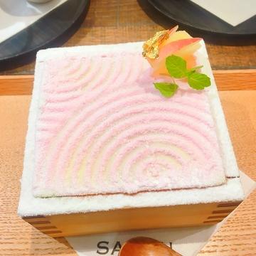 期間限定♡♡銀座茶房のりんごティラミス