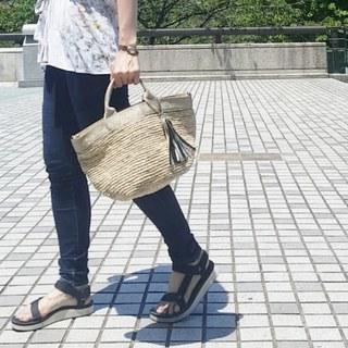 夏は日差し映えなかごバッグがあればいい!【My定番アイテム】