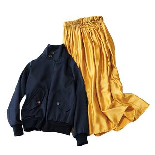 <スタイリスト徳原文子さんは…今季も「ロングスカートありき」で考える!>