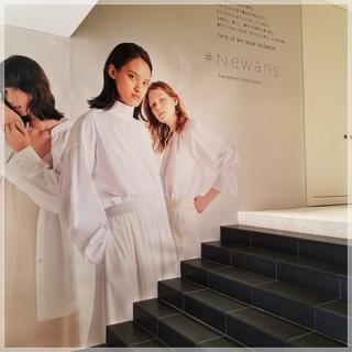 着る人に寄り添い『あたらしい答え』になれる服!【#Newans】新たにデビュー!!