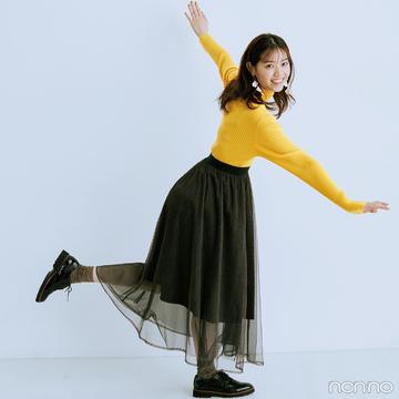 【#西野七瀬の毎日ニット】11/6は「エマ・ストーンの誕生日」