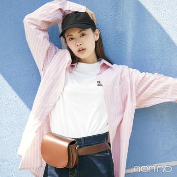 韓国ファッション初心者必見! ビッグシャツをおしゃれにはおるには?