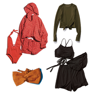 アラフォーが自信を持って着られる水着&ラッシュガード | 40代水際アイテムのまとめ